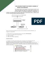 Conversion Un Access Point de Modo Ligero a Modo Autonomo (1)
