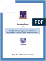 Internship Report on Unilever Bangladesh Ltd