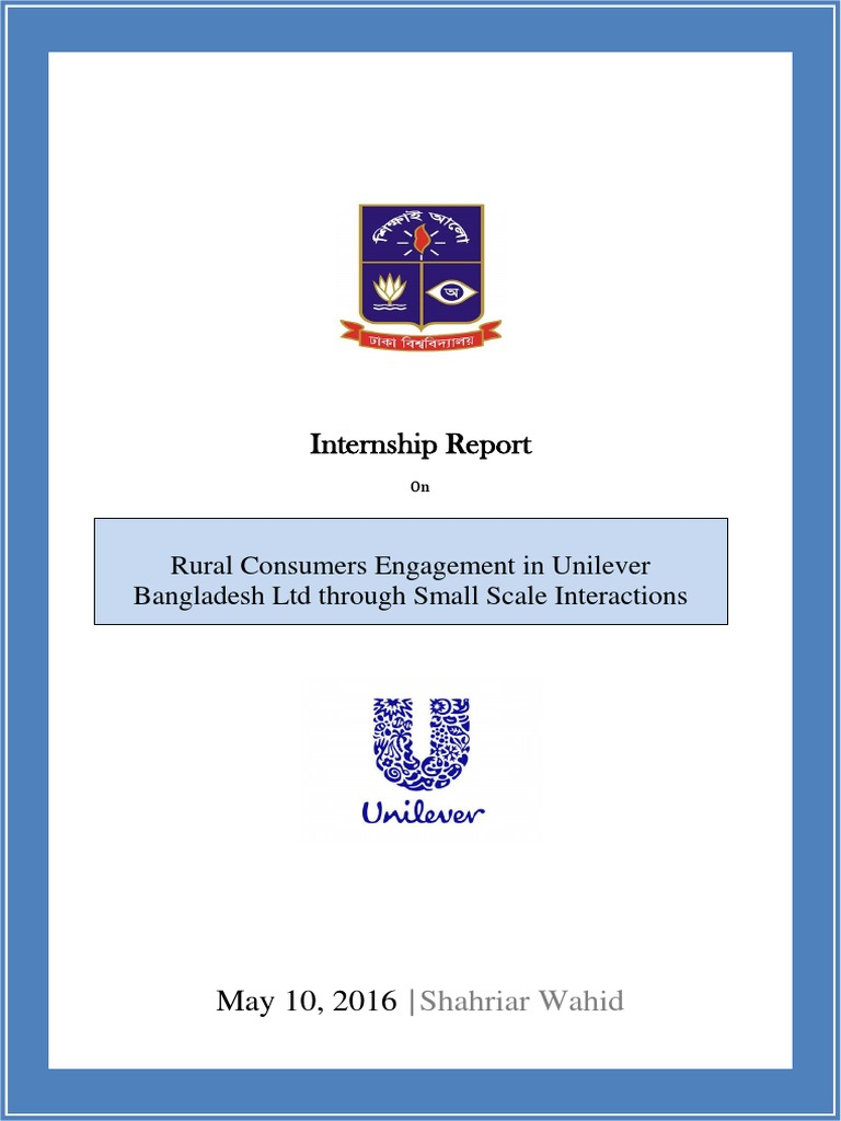 Internship report on unilever bangladesh ltd unilever brand biocorpaavc Images