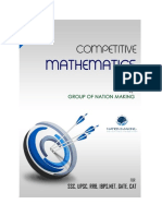 Competetive Maths