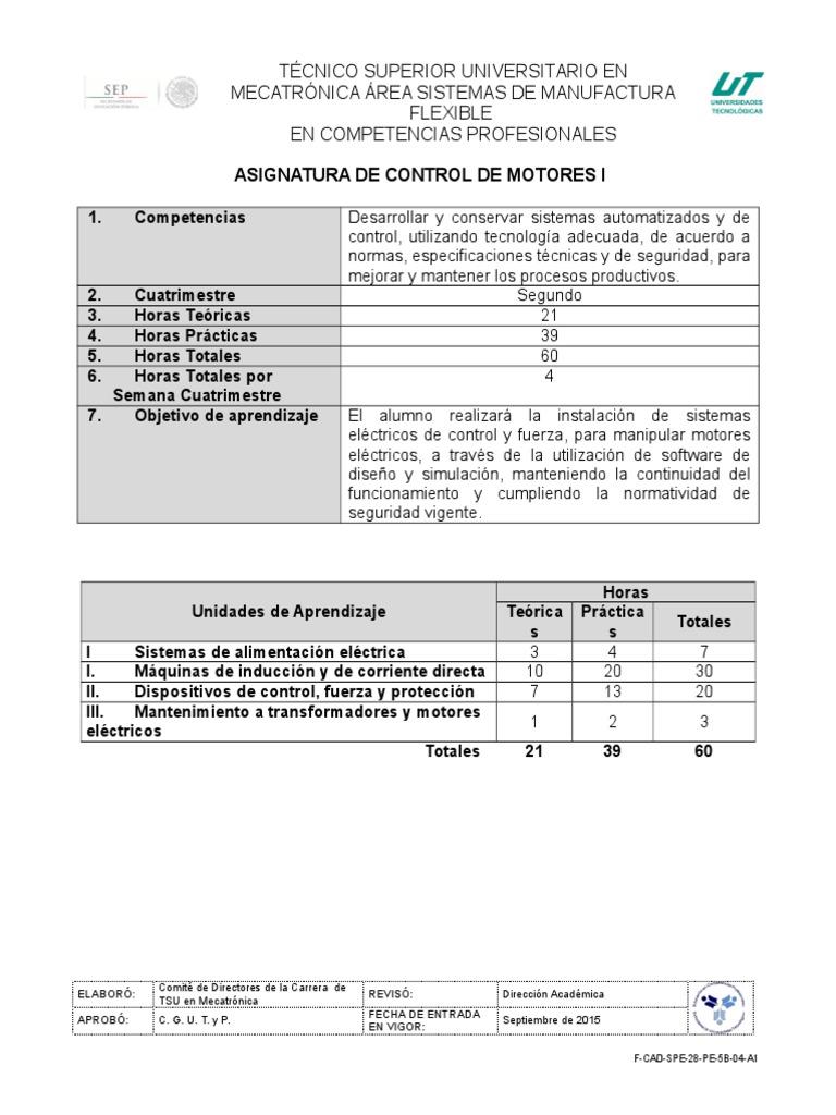 6. Control de Motores I