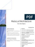 History of Arch