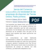 EL COMERCIO ELECTRONICO Y SU IMPORTANCIA EN LA COMERCIALIZACION.docx
