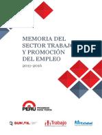 Memoria Mintra 2011-2016