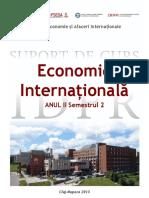 Economie Internationala SC - EAI ID