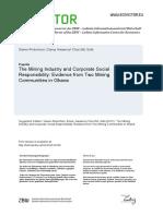Corporate Social Responsitbility