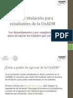 Titulacion UnADM