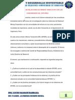 Analisis de Las Relaciones Comunitarias en Yanacocha