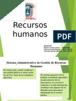 RECURSOS HUMANOS DIAPOSITIVAS