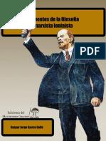 Elementos de La Filosofía Marxista - Gaspar Galló