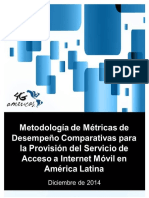 Metodologa de Mtricas 4GAmericas Diciembre 2014 FINAL