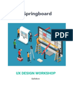 Springboard UX Design Syllabus v2 Mar16