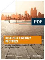 District Energy in Cities