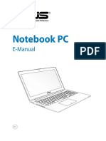 Petunjuk Note Book