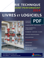 LIVRES Catalogue 2014 Librairie Technique