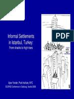 2006_yonder Informal Settlements Istanbul