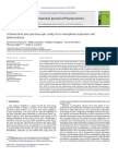 Lobman, IJP, 2013, Theoretical and Spectroscopic Study of Co-Amorphous Nap and IMC