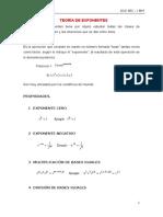 Teoria de Exponentes 2017