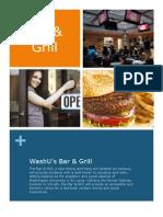 Bar & Grill Proposal Draft