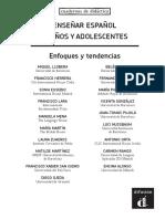 Ensenar Espanol Ninos Adolescentes Muestra