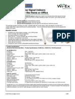 YX510 Spec Sheet