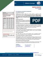 BMCE Capital Research Initiation Coverage MARSA MAROC 16 06 16