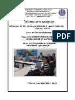 Métodos de Estudio a Distancia e Investigación 00055