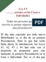 LEY #5 Presentaciones en Las Casas