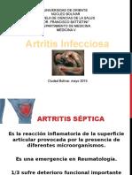 Artritis Infecciosa 2015