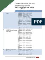 Jadwal Pelatihan Day Care 2017
