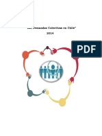 CONADECUS - Las Demandas Colectivas en Chile (2014)