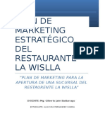 Plan de Marketing Estrategico La Wislla