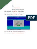 Turbo C Installation