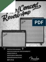 Concert Reverb Manual