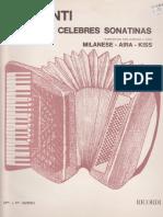 Trozos de Celebres Sonatinas - Acordeon - CLEMENTI.pdf