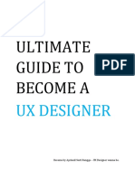 The Ultimate Guide to Become a UX Designer - By Aprianil S Rangga
