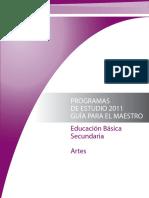 Artes Musica Programa 2011 Sec