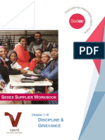 1.10 Discipline Grievance Sedex Supplier Workbook