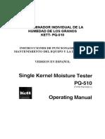 Manual Del PQ510 Espanol