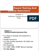 Chapter 4 Software Quality Assurance Plan