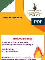 Fire Awareness Corporate 170210