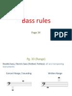 1) Bass & Chord (Swing, Bossa)