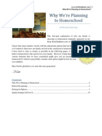 Why We're Planning to Homeschool