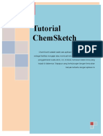 Tutorial Membuat Struktur Lewis With ChemSketch