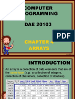 Chapter 4 Array (1)