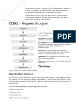 COBOL Stands for Common Business Oriented Language