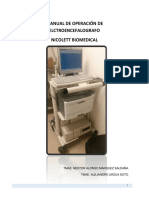 Manual de Operación de Electroencefalografo