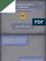 PPT Penentuan Produktivitas Perairan