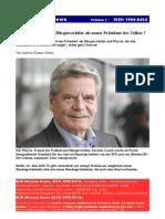Joachim Gauck Buergerechtler Praesident 2