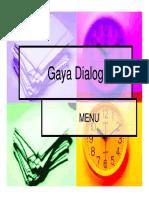 06 Gaya Dialog Menu